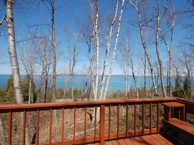 Photo for Exceptional Sunsets and the Expansive Lake Views, Minutes to Petoskey!