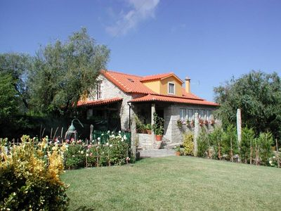 Photo for Rural, traditional house with private garden near the sea