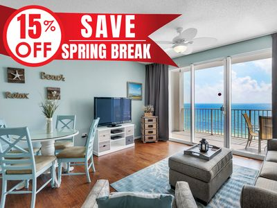 Photo for 15% OFF Now-5/25/19! Updated BEACH View @ Resort! Pool~Hotub~Gym + VIP Perks!
