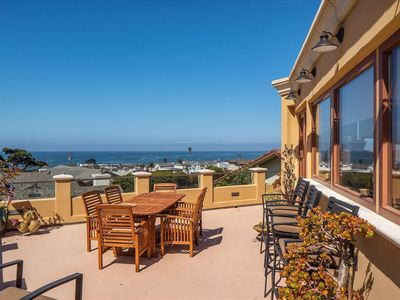 Photo for Stunning Luxury Cayucos Villa with Serene Panoramic Ocean Views