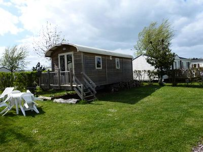 Photo for Camping Les Peupliers **** - Trailer 3 Rooms 4 People