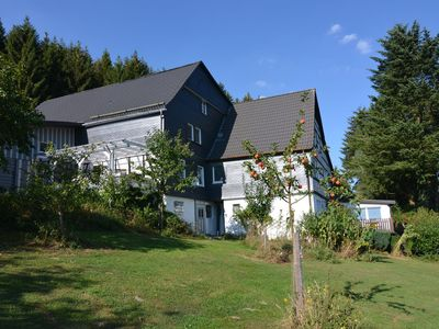 Photo for Lovely apartment in the Sauerland with separate entrance in an absolutely private location