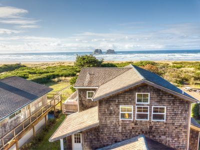 Photo for TWIN ROCKS HAVEN - NEW OCEANFRONT LISTING-Gorgeous views of the Pacific Ocean
