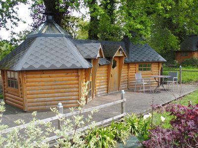 Photo for Hut 2 person for fairy stay in Brocéliande, Brittany