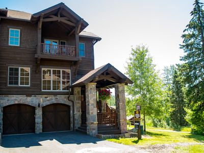 Photo for Large Luxury Ski-in Ski-out Condo On Big Mountain Just Steps from Base Lodge!