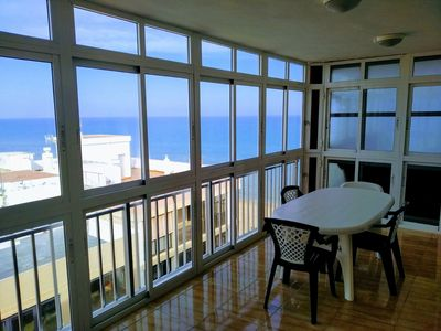 Photo for PENTHOUSE WITH SEA VIEWS, ALMOST FIRST LINE OF BEACH. PASEO MARÍTIMO AREA.