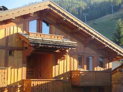 Photo for Apartment heart of the village next to the slopes
