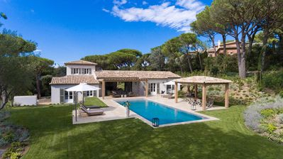 Photo for VILLA AGAPE, Superb 5 bedroom villa Parks of Saint Tropez