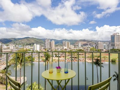 Photo for 2 bdrm with gorgeous canal view in Waikiki!!
