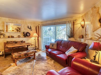 Photo for Newly renovated condo w/ shared hot tub - near ski slopes & on bus route