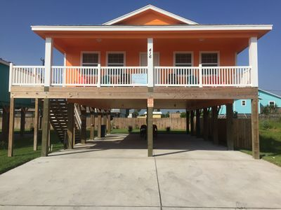 Photo for New Port A Home, 1/4 Mile To Beach, Close To Everything! Can Accommodate 20!