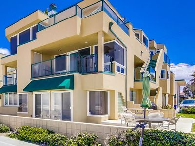 Photo for Gorgeous Oceanfront Condo, Centrally Located in the Heart of Mission Beach!