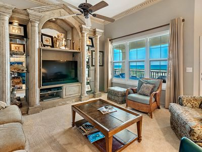 Photo for 303W ~ Captivating 3BR/3BA top floor condo with a beautiful Gulf view