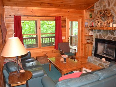 Photo for Rare secluded 2 bedroom with private bed/bath suites nestled among the tree tops
