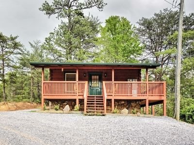Photo for Studio Log Cabin in Sevierville w/Private Hot Tub!