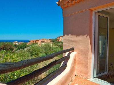 Photo for Beautiful Sea View Apartment with Two Lovely Terraces In Rural Sardinia