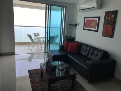 Photo for Apartment facing the sea