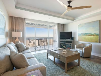 Photo for Wake up ON the Beach! Directly Oceanfront Top-Floor Condo with Amazing Sunrises and Stunning Views