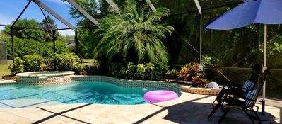 Photo for Tropical. Golf, Pool, Jacuzzi Paradise