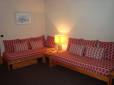 Photo for Fully equipped apartment 8 people wonderful location overlooking the slopes