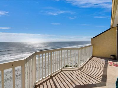 Photo for Enjoy ocean views and private balcony from this beautiful oceanfront condo.
