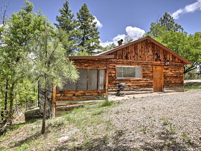 Photo for 2BR Ruidoso Cabin Surrounded by Wildlife!