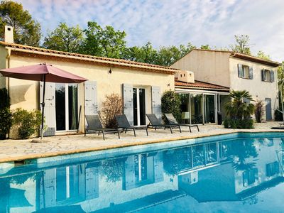 Photo for Beautiful Villa, Large Private South Facing pool and Gardens,