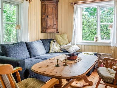 Photo for Sun-drenched, Cosy Cabin in Peaceful Setting