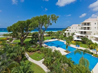 Photo for Amazing Beachfront View and Pool - Palm Beach 405