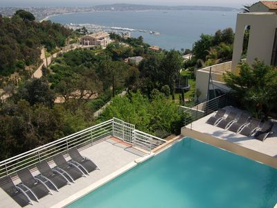 Photo for beautiful villa between Cannes , Golfe juan , french riviera