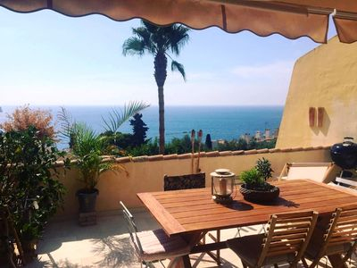 Photo for Penthouse with spectacular sea views and two terraces of over 30 m2.