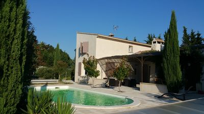Photo for 4BR Villa Vacation Rental in Caderousse, Provence-Alpes-Côte-D'Azur