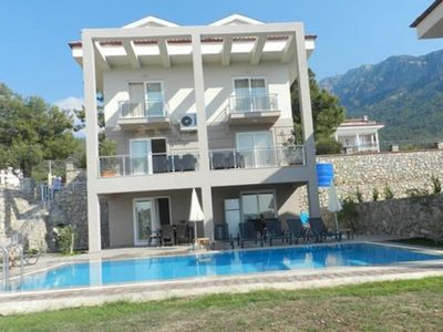 Photo for Villa Meander 5 Bedroomed Luxury Private Pool Villa. Villa  with Nice garden and pool is located in Ovacik Ölüdeniz.