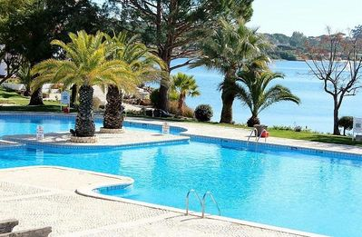 Photo for Apartment With 2 Balconies Overlooking The Quinta Lagoon In The Golden Triangle