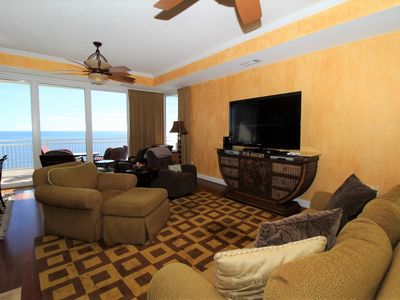 Photo for La Playa 702- Beach Front Views with Wrap-Around Terrace!