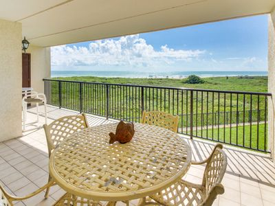 Photo for Welcoming oceanfront condo w/ shared tennis, pool, hot tub, & more!