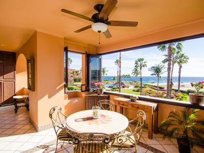 Photo for Dorado II 206 Casa Del Mar BEACHFRONT!! Gorgeous Condo! Spacious Outdoor Living!