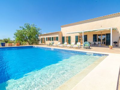 Photo for CAN DEGO - Villa with private pool in Porreres.