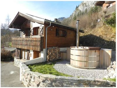 Photo for Small individual chalet located in Miolène-Richebourg near the Chapel of Abondance and next to Abo