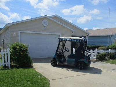 Photo for Beautiful Patio Villa with Complimentary Golf Cart