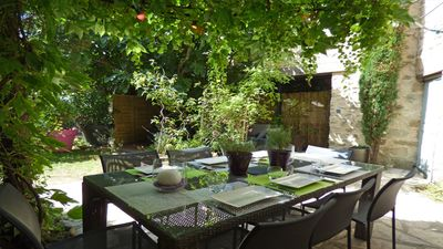 Photo for Superb upscale charming cottage including 4 to 6 people in Drôme Provençale