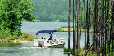 Lake Carolina - is just steps from our property. It's a beautiful lake!