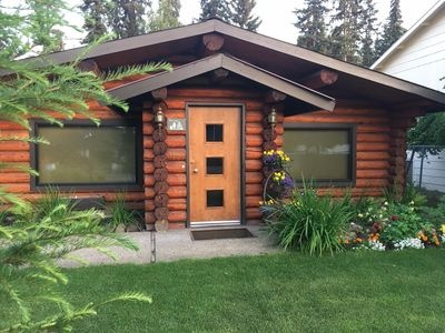 Photo for An Alaskan cabin experience awaits you in this classic 60's log home!