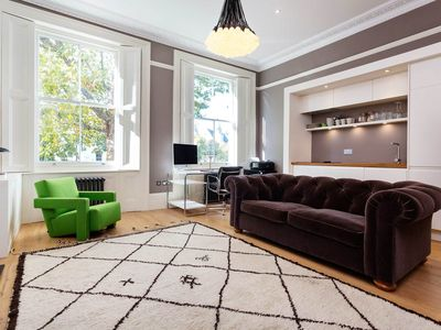 Photo for Smart 1 bed in prestigious area, moments from Notting Hill Gate tube (Veeve)