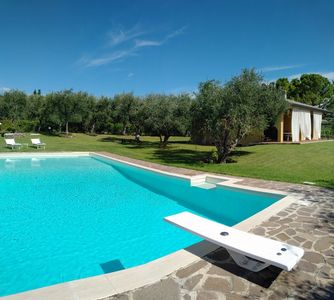 Photo for Charming detached villa, panoramic views, garden and private swimming pool