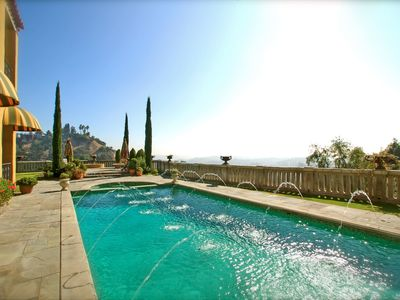 Photo for The Villa Sophia - Romantic Honeymoon Spa Retreat - Central Los Angeles Hilltop