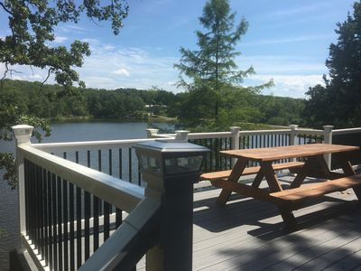 Photo for Hermann Lake House offering you a serene, peaceful and exclusive get away.