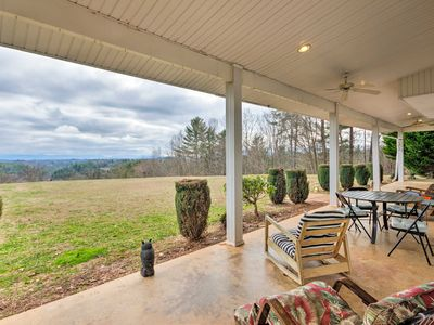 Photo for NEW! 7-Acre Home w/ Mtn Views - 16 Mi to Asheville