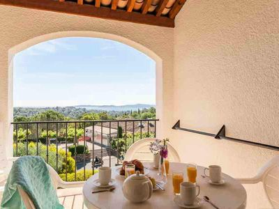Photo for Village Pierre & Vacances The Restanques of the Gulf of Saint Tropez - Apartment 2/3 rooms 6/7 People Superior - Sea View