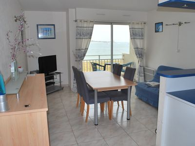 Photo for Furnished *** in Saint-Vaast-la-Hougue facing the sea and the island of Tatihou